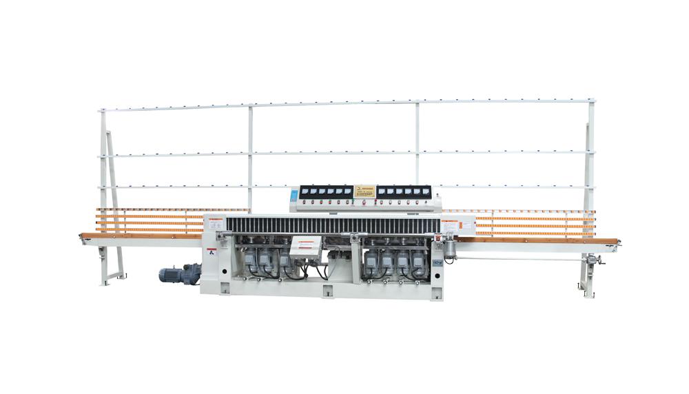 11-и шпиндельный прямолинейный шлифовально-полировальный станок BZM11-45 с ЧПУ Производство: HAIDEBAO (КНР)