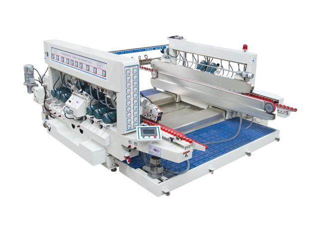 """Двухсторонний автоматический шлифовально-полировальный станок для обработки """"еврокромки"""" стекла BZMS20-2500 Производство: Haidebao (КНР)"""